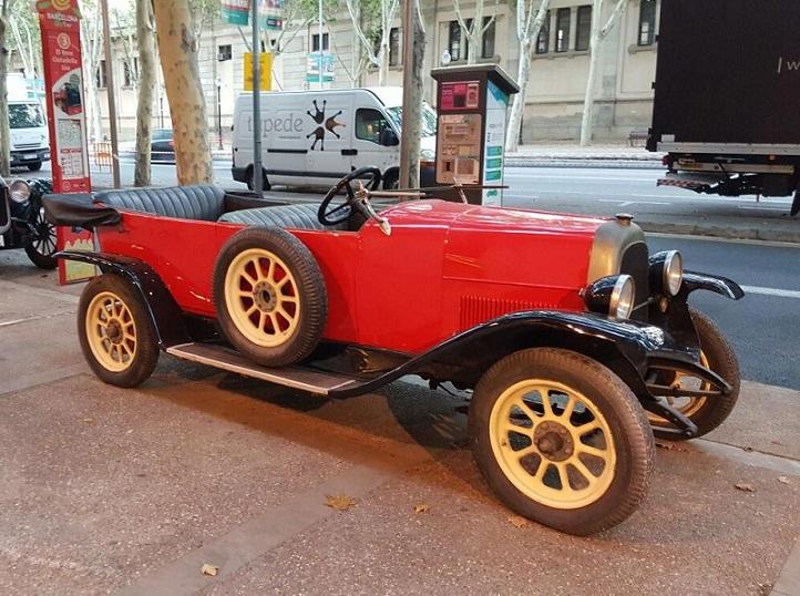 P0035 Alquiler Fiat 501 1919 rojo