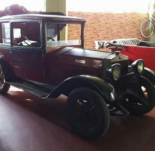 P0035 Alquiler Fiat 509 1923 granate