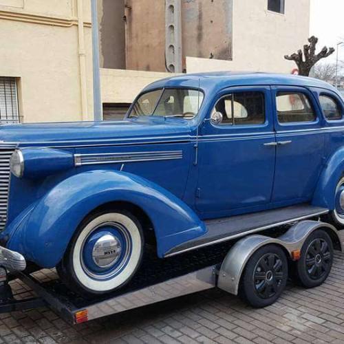 P0035 Alquiler Nash Ambassador 1938 azul
