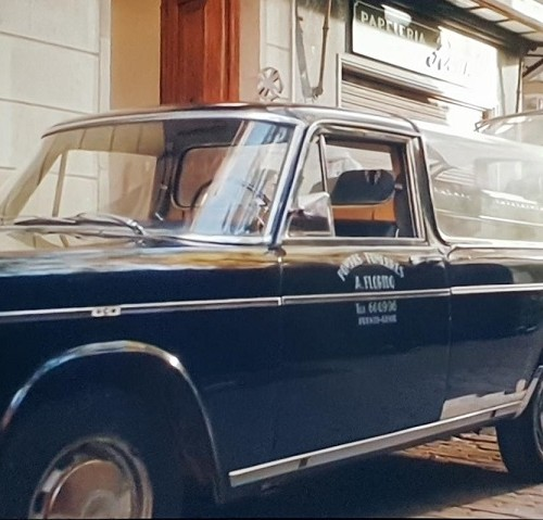 P0035 Alquiler Seat 1500 fúnebre de 1970 negro