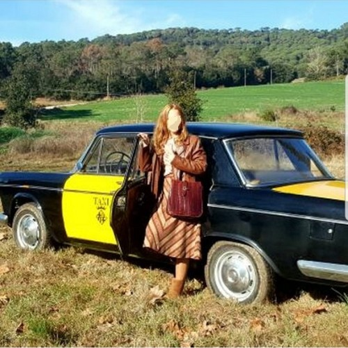 P0035 Alquiler Seat 1500 taxi 1970