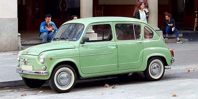 P0035 Alquiler seat 850 1965 verde