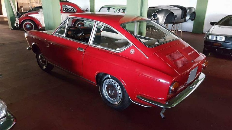P0035 Alquiler seat 850 coupe