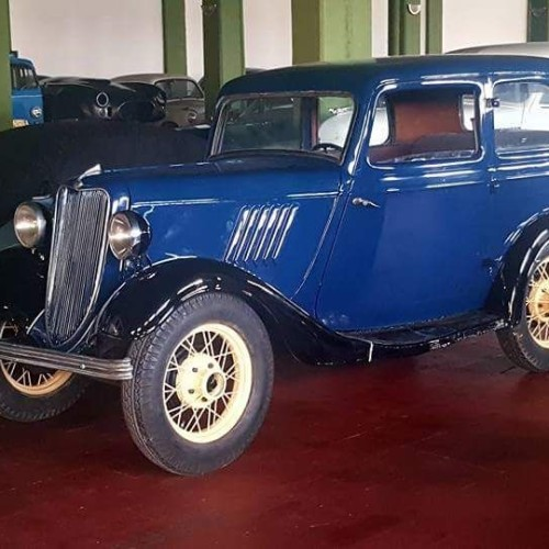 P0035 Ford 8hp 1933 azul