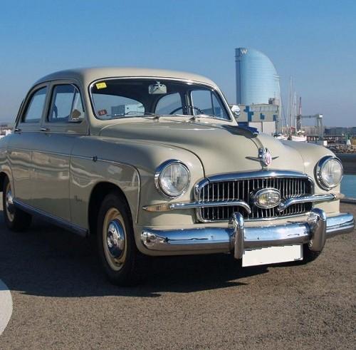 P0181 Seat 1400 B Especial 1958 Crema interior frontal