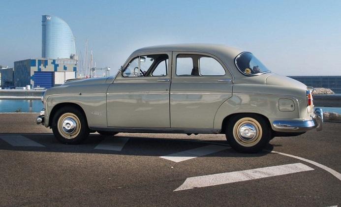P0181 Seat 1400 B Especial 1958 Crema interior lateral