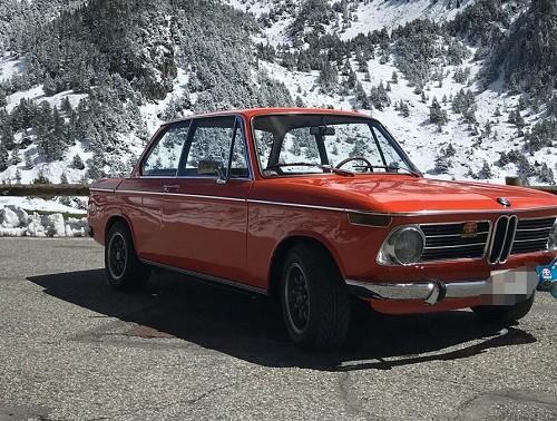 p0179 alquiler BMW 2002 naranja front