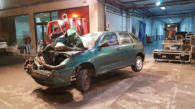 tyreaction alquiler tanque carro de combate el hormiguero pilar rubio jordi nebot peliculas television 3