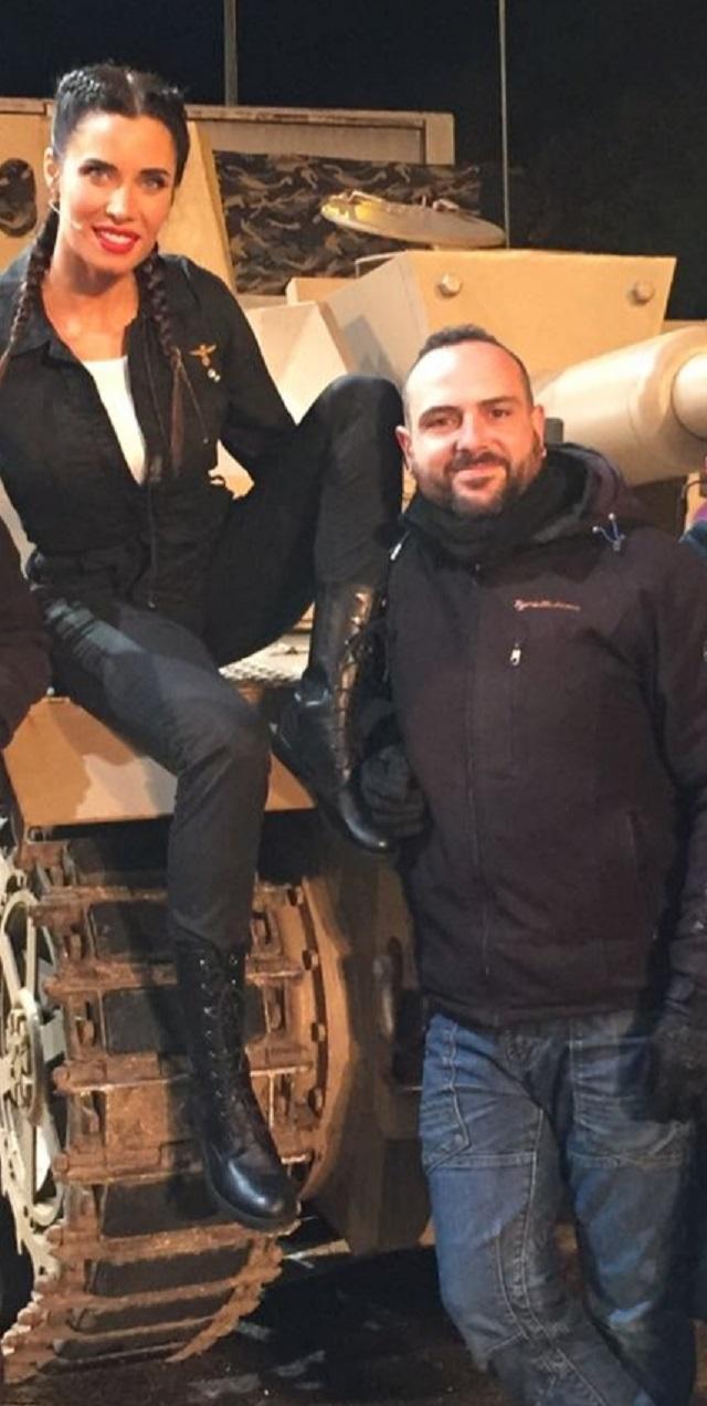 tyreaction alquiler tanque carro de combate el hormiguero pilar rubio jordi nebot peliculas television 6