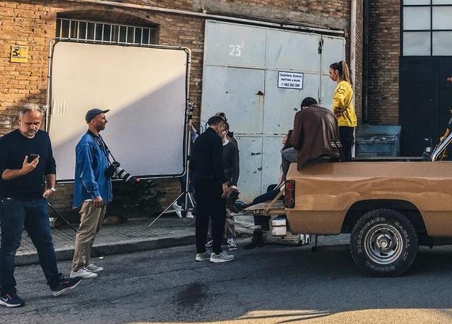 tyreaction making of anuncio panama jack vehiculos de escena alquiler dodge ram pickup americana clasica vehiculos e escena 4