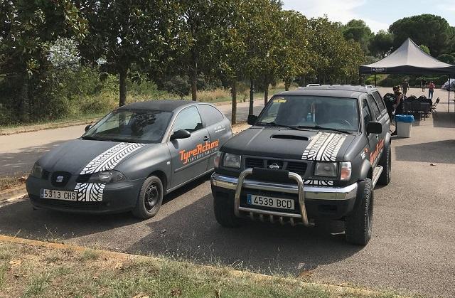 tyreaction vehiculo asistencia carcare rodaje publicidad