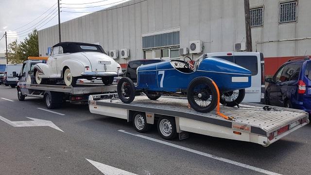 tyreaction alquiler coche americano pelicula grease 30s 40s anuncio toyota corolla 2