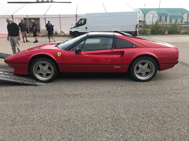 tyreaction alquiler rent ferrari 308 classic car making of anuncio toyota corolla 2