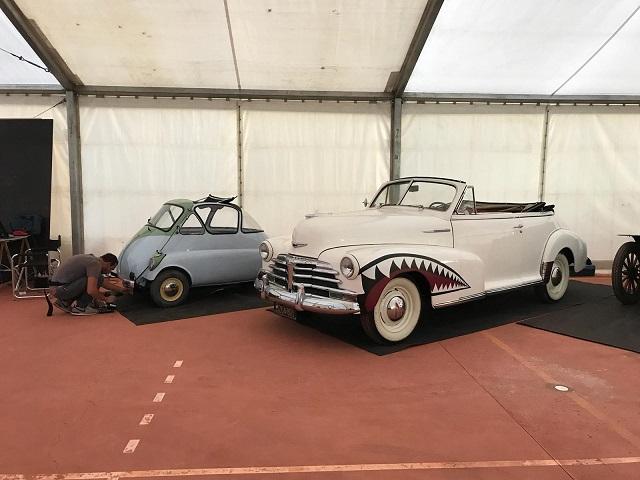 tyreation alquiler coche clasico bmw isetta y grease 30s 40s vehiculos de escena cine publicidad 3