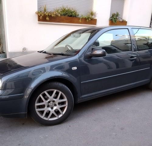 p0074 alquiler volkswagen Golf IV inglés volante derecha barcelona