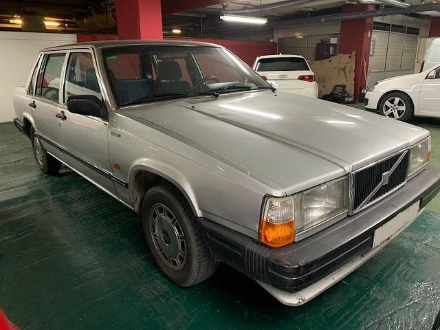 P0014 Alquiler Volvo 740 frontal