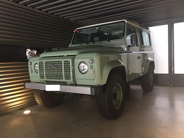 10732 Alquiler  Land Rover Santana verde frontal