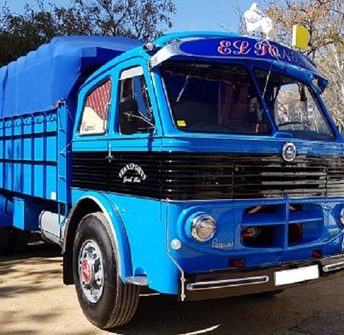 10742 Alquiler  Camión Pegaso azul