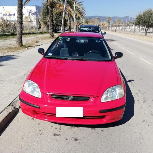 P0044 Alquiler Honda Civic rojo