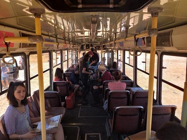 Making of rodaje aitana y lola indigo me quedo alquiler camaracar  scorpio arm pursuit rent a classic bus españa 2