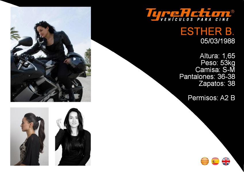 Ficha Esther Tyreaction