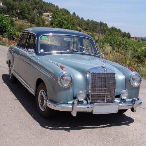 P0018 Mercedes ponton azul trasero
