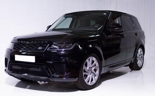 p0103 Alquiler Range Rover Sport 2019 negro vehículos de escena tyreaction