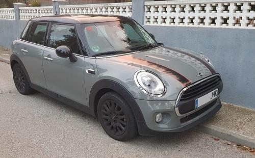 00001 alquiler Mini s one gris 4 cuatro puertas front