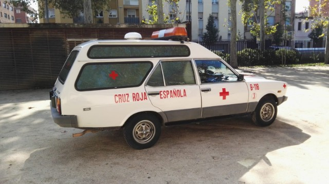 p0013 alquiler ambulancia clasica seat 131 tyreaction vehículos de escena