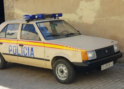 p0035  alquiler talbot horizon policia grises 1980