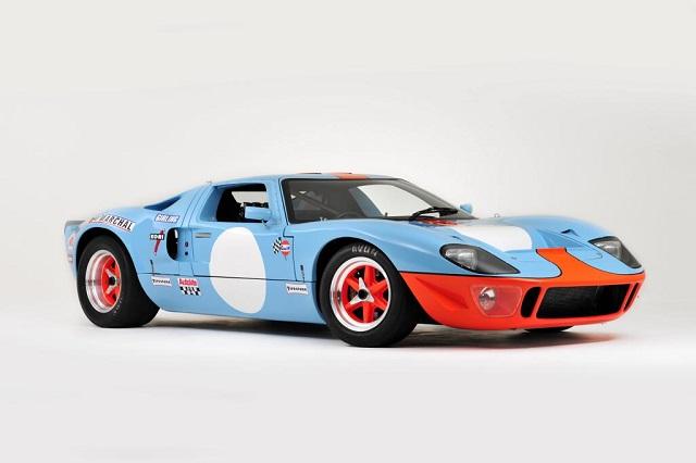p0161 alquiler ford gt 40 edición GULF competicion carreras azul front 2 tyreaction vehículos de escena rent picture vehicles spain