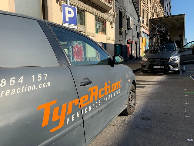 tyreaction anuncio seat leon precision driver hero car commercial  carcare all services automoyive spain scorpio arm russian arm barcelona madrid 6