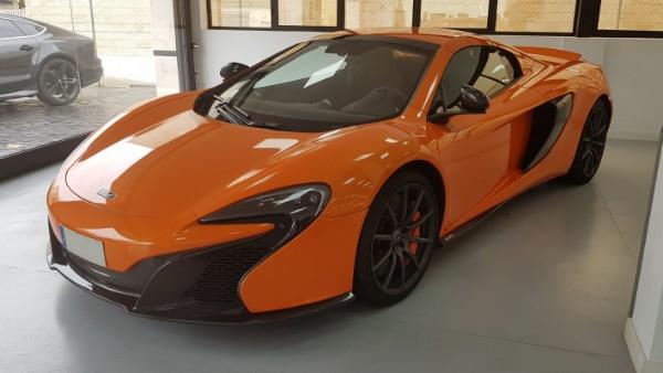 PM012 Alquiler deportivo gama alta de lujo mclaren p1 tyreaction madrid naranja front