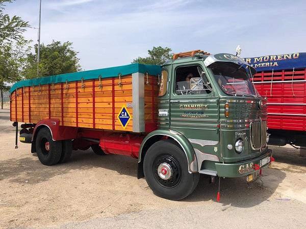PA0006 alquiler camión pegaso clasico andalucia tyreaction verde front 2