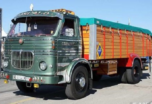 PA0006 alquiler camión pegaso clasico andalucia tyreaction verde front