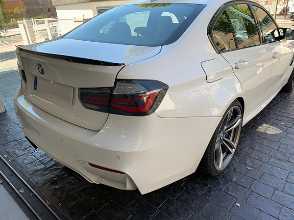 PM012 Alquiler BMW Serie 2 blanco Madrid