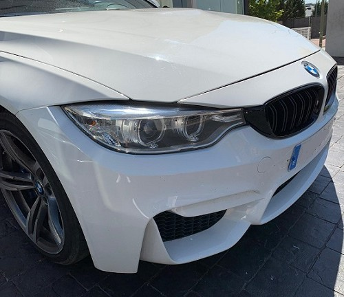 PM012 Alquiler BMW Serie 2 blanco frontal Madrid
