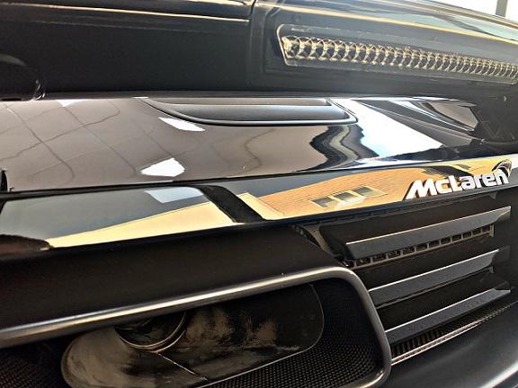 PM012 Alquiler McLaren 600LT negro Madrid