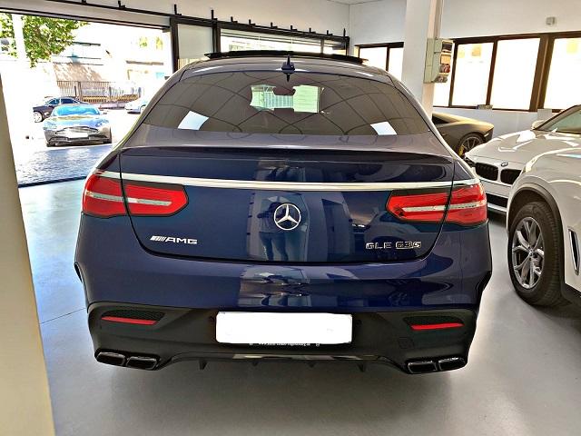 PM012 Alquiler Mercedes GLE G3S Madrid