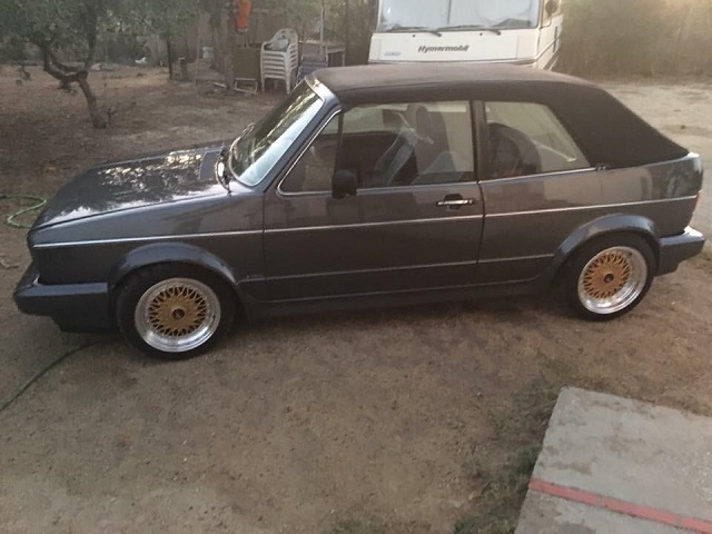 pA0006 alquiler volkswagen golf mk1 cabrio gris front