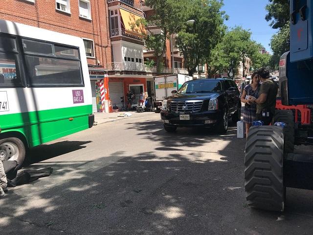 tyreaction picture vehicles terminator arnold schwarzenegger sarah connor dark fate destino oscuro cadillac escalade vehiculos de escena making of 6