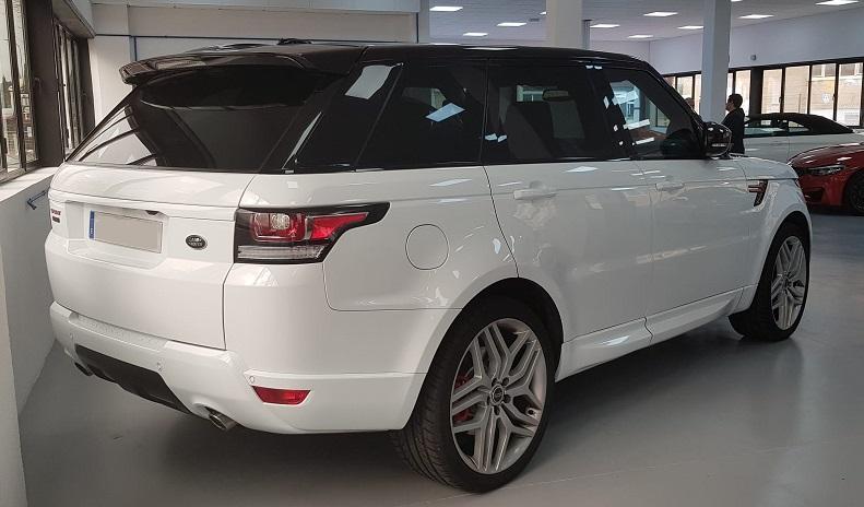 PM012 Alquier Range Rover blanco madrid trasero
