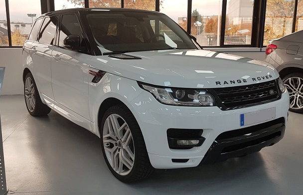 PM012 Alquier Range Rover blanco madrid