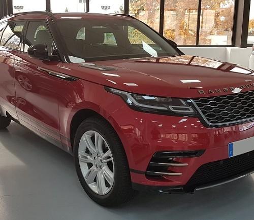 PM012 Alquier Range Rover rojo madrid frontal