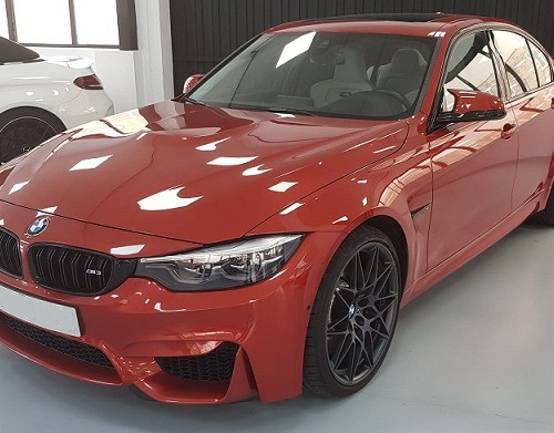 PM012 Alquiler Bmw m3 rojo