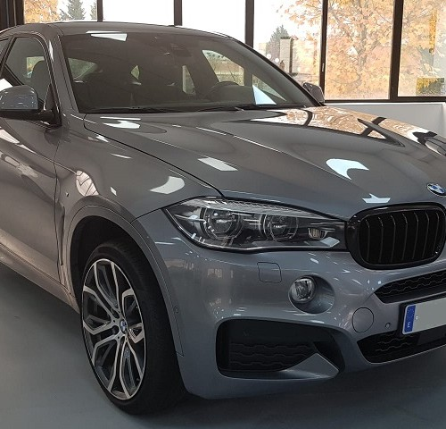 PM012 Alquiler Bmw x6 gris madrid
