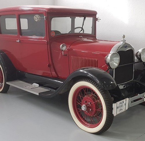 PM012 Alquiler Ford model a 1928 rojo