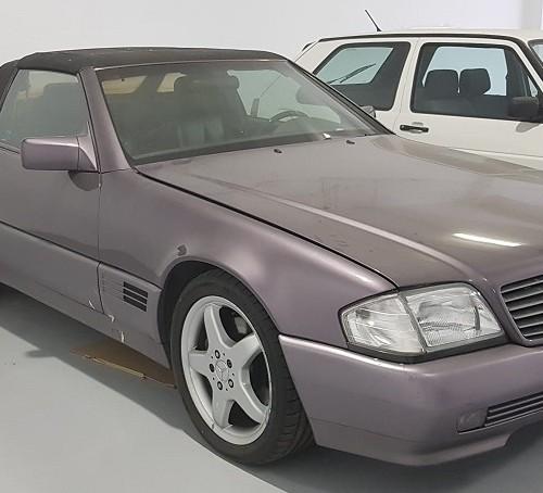 PM012 Alquiler Mercedes sl cabrio  madrid