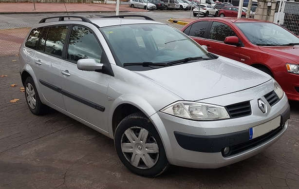 PM012 Alquiler Renault megane familiar madrid