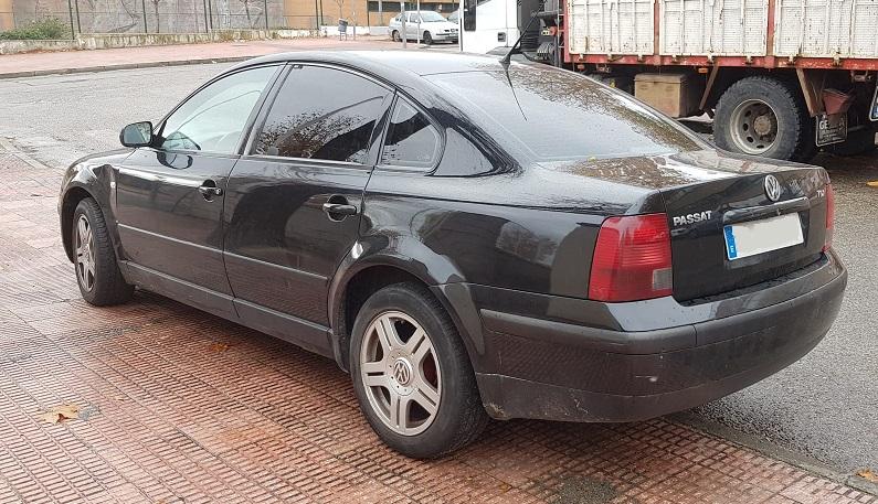 PM012 Alquiler volkswagen passat negro madrid